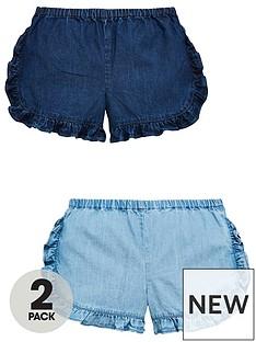 mini-v-by-very-pack-of-2-girls-tencel-ruffle-shorts