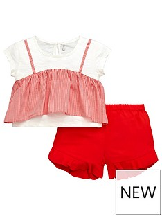 mini-v-by-very-girls-top-and-short-set-redgingham