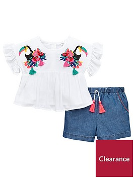 mini-v-by-very-girls-toucan-embroidered-top-and-short-set-multi
