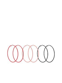 v-by-very-amy-coloured-rubber-hoop-earrings-3-pack