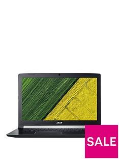 Acer Aspire 7, Intel® Core™ i5,8GbRAM,128GB SSD + 1000 GB HDD 17.3in Full HD Gaming Laptop GeForce GTX 1050 2GB- Black