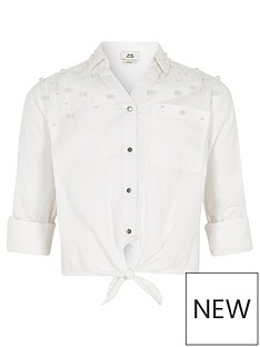 river-island-girls-white-faux-pearl-embellished-tie-shirt