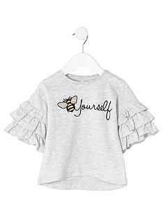 river-island-mini-girls-grey-bee-embroidered-t-shirt