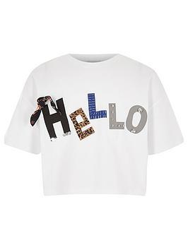 river-island-girls-white-039hello039-3d-cropped-t-shirt