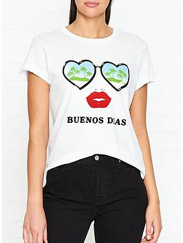 wildfox-buenos-dias-t-shirt-white