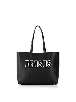versus-versace-logo-print-tote-bag-black
