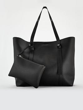 v-by-very-bridget-soft-tie-detail-shopper-black