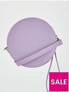 v-by-very-poppy-round-crossbody-lilac