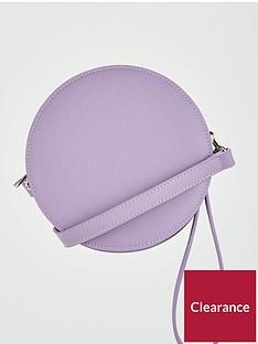 v-by-very-poppy-round-crossbody-lilac