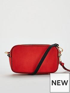 v-by-very-paloma-double-zip-crossbody-red
