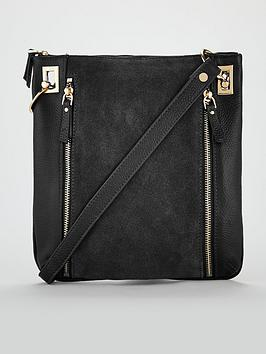 v-by-very-bayley-leather-zip-detail-cross-body-bag-black