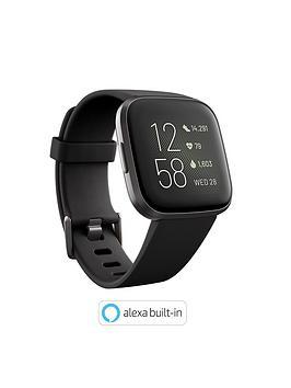 Fitbit Versa 2 - Black/Carbon