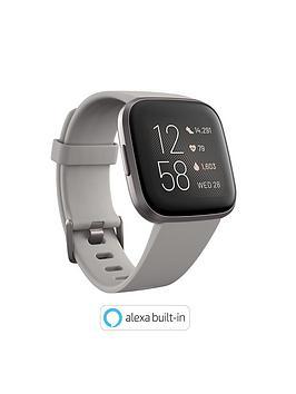 Fitbit Versa 2 - Stone/Mist Grey