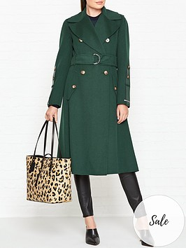 sportmax-code-edro-wool-trench-coat-green