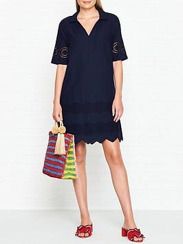 whistles-broderie-shirt-dress-navy