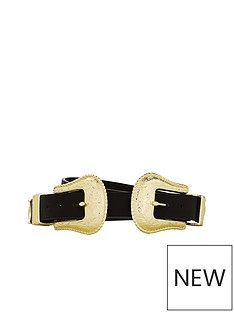 v-by-very-ora-double-buckle-western-belt-blacknbsp