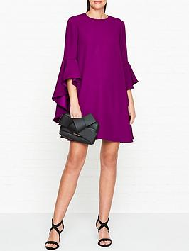 ted-baker-ashleyy-a-line-waterfall-sleeve-dress-purple