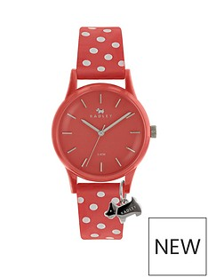 radley-radley-pink-dial-with-silver-dog-charm-and-spotty-pink-strap-ladies-watch