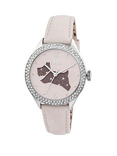 radley-the-great-outdoors-dog-dial-with-stone-set-bezel-and-cream-leather-strap-ladies-watch