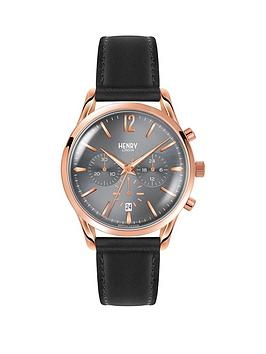 henry-london-grey-and-rose-gold-dial-black-leather-strap-mens-watch
