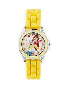 disney-princess-belle-printed-dial-yellow-silicone-strap-kids-watch
