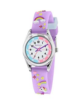 tikkers-white-dial-unicorn-lilac-strap-kids-watch