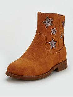 v-by-very-girls-rebecca-glitter-star-ankle-boots-tan