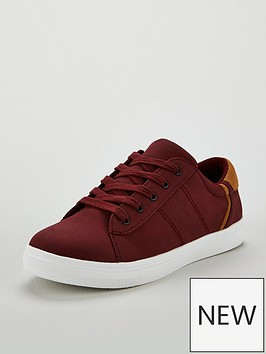 v-by-very-connor-plimsole-maroon