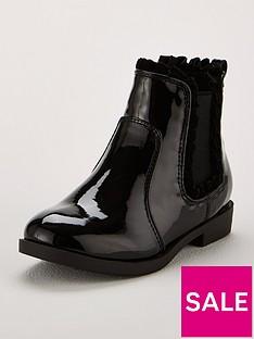 mini-v-by-very-girls-hannah-frill-trim-chelsea-boots-black