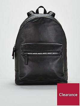 hugo-national-leather-backpack-black