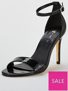 92ebfb8530 Black Heels | Black Strappy Heels, Wedges & More | Very