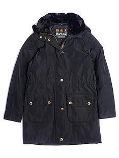 barbour-girls-international-garrison-waterproof-faux-fur-collar-coat