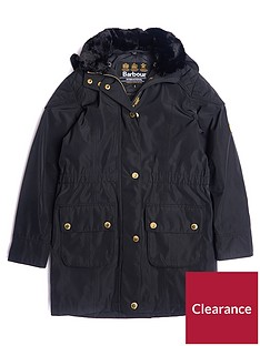 barbour-girls-international-garrison-waterproof-faux-fur-collar-coat