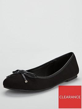 v-by-very-maple-round-toe-ballerina-black