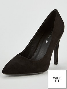 af0194a8186 V by Very Wide Fit Chica High Point Court Shoe