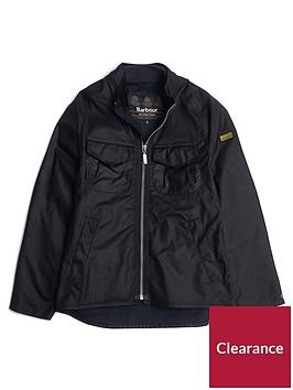 barbour-international-boys-bar-wax-jacket-black