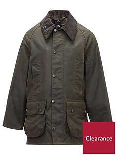barbour-boys-classic-beaufort-wax-jacket