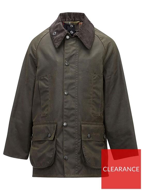 Barbour Boys Classic Beaufort Wax Jacket   very.co.uk 215eab7e831e