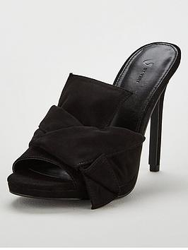 v-by-very-brixton-bow-high-heel-platform-mule-sandal-black