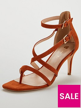 v-by-very-gala-square-toe-mid-strappy-sandal-tan