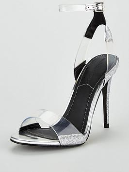Kendall + Kylie Enya Barely There Sandal - Silver