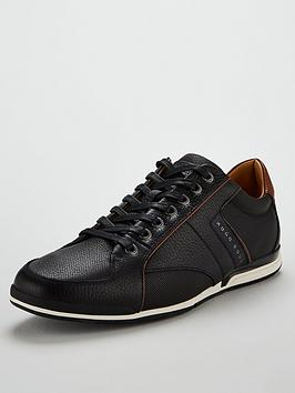 boss-casual-saturn-leather-trainer