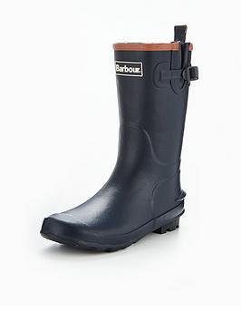barbour-kids-navy-wellington-boot