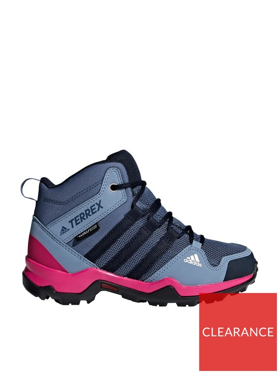 226d54915 adidas Terrex AX2R Mid Childrens Trainers - Blue Pink