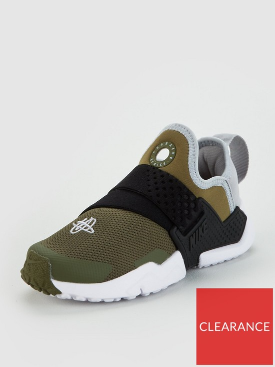 reputable site be9be 6fa68 Nike Huarache Extreme Childrens Trainers - Khaki/Grey | very.co.uk