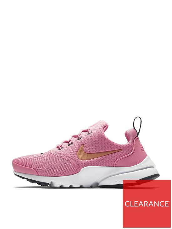 brand new 578cf 94c4a Nike Presto Fly Junior Trainers - Pink