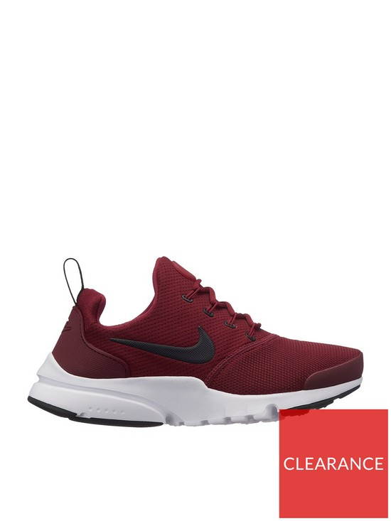 7ae9e21936 Nike Presto Fly Junior Trainers - Red | very.co.uk