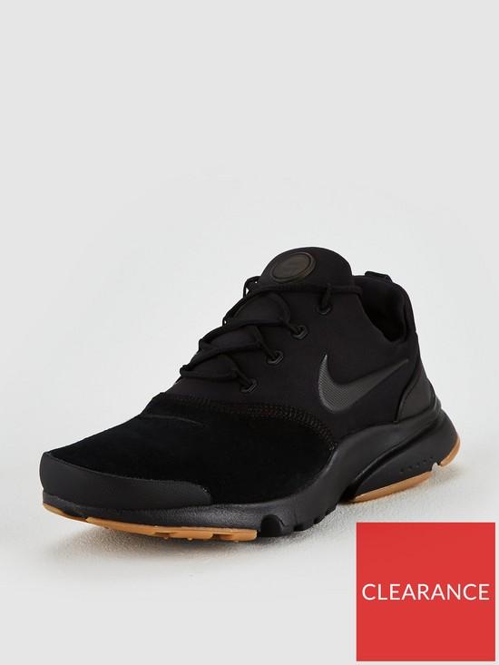 d75ec7407f07 Nike Junior Presto Fly Premium - Black