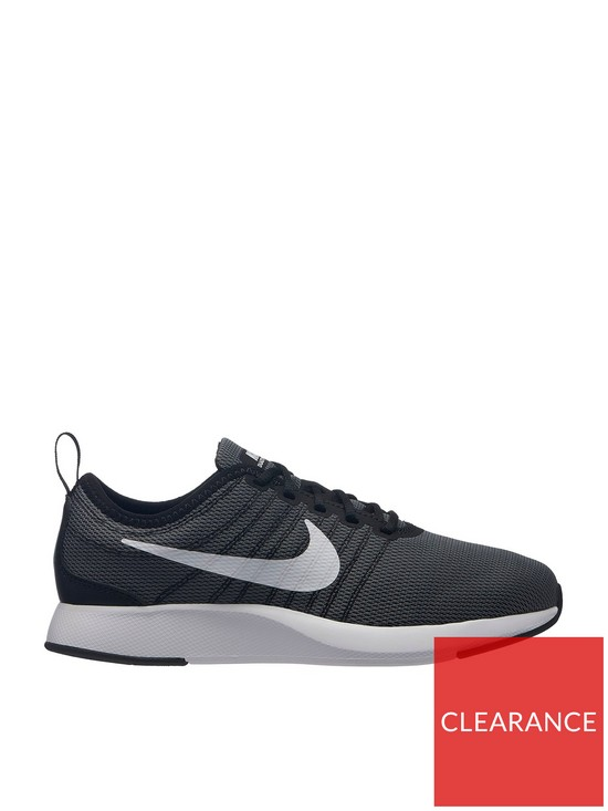 ceb1fd390b Nike Dualtone Racer Junior Trainer - Black/White   very.co.uk