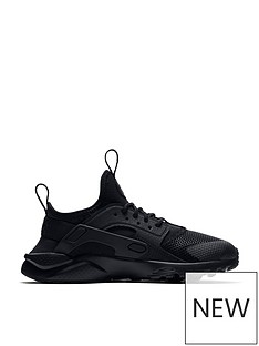 nike-childrens-huarache-run-ultra-trainers-black